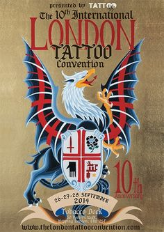 Matt Howse and Luke Stewart will be attending this years London tattoo convention, sep to book an appointment contact them directl. Tattoo Posters, London Tattoo, Body Art Tattoos, Events, Book, Amazing, Check, Design, Tatoo