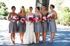 Grey Dress Bridesmaids
