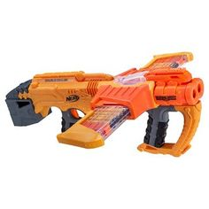 Fight for justice in a doomed world with Nerf Doomlands launchers. With powerful blasters like the Nerf Lawbringer, become the most feared soldier on the battefield. Strengthen your gear with Nerf Vortex blasters, too! Pistola Nerf, Cool Nerf Guns, Promo Amazon, Nerf Toys, Bon Point, Nerf Party, Outdoor Toys, Last Jedi, Crossbow
