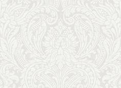 Off White SO50100 Leaf Scroll Wallpaper Arabesque