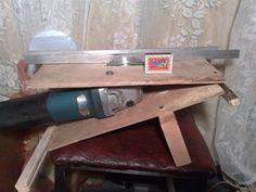 Циркулярка из болгарки из металла