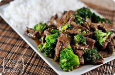 Broccoli Beef - This was pretty perfect. I didn't have a chance to buy fresh ginger so used ground and I could definitely taste the difference. Keeper.