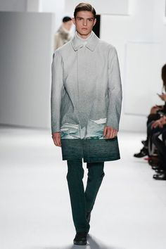 Lacoste's collection, Fall 2013 will be an icy one