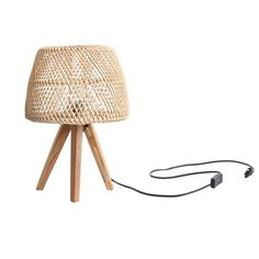 Bay Isle Home 42 cm Tischleuchte Maze Handmade Home, Home Trends, Made Of Wood, Raw Materials, Desk Lamp, Night Light, Really Cool Stuff, In The Heights, Solid Wood