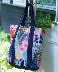 Sy et – på alle måder – bæredygtigt net, til at transportere dine indkøb hjem i.