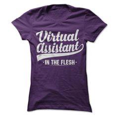 Virtual Assistant In The Flesh T-Shirt Hoodie Sweatshirts ooo