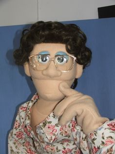 Marjorie by PJs Puppets  -- custom professional puppets