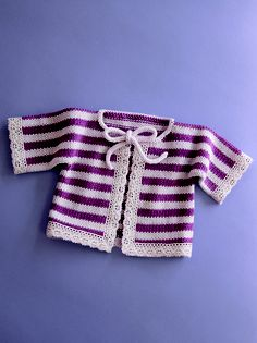 making this out of purple and white :)