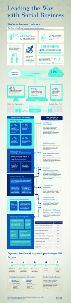 Leading the Way with Social Business #Infographic