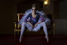 Hand-painted ballet outfit by: Wiecznie Bazgrająca #handpainted #ballet #ballerina #diy #poland #polishgirl