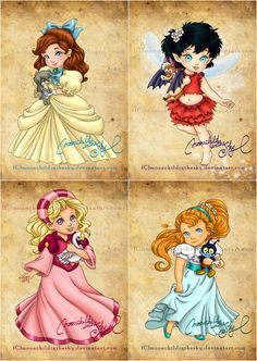 Every child loves watching Disney movies, but little girls especially love the Disney's princesses. Forgotten Disney Princesses, Non Disney Princesses, Baby Disney Characters, Disney Princess Babies, Disney Princess Fashion, Disney Memes, Disney Cartoons, Cute Disney, Disney Art