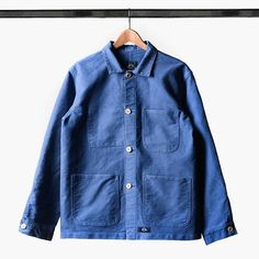 Bleu De Paname Veste De Comptoir P16-12-001-279 - Caliroots.de