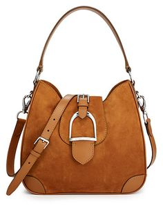 Equestrian Soft Suede Hobo - Ralph Lauren Handbags Handbags - RalphLauren.com & its only $1,500 ! *dreaming*