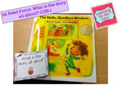 Ideas for using books from your classroom library for Close Reading in Kindergarten and 1st Grade!