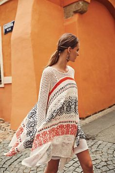 Anthropologie - Risen Sun Sweater Dress, A fall favorite for day to night attire.