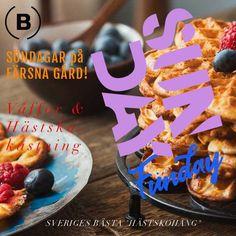 Pitch & Waffle = True! Farm Cafe, Crispy Waffle, Pitch, Sweden, Waffles, Breakfast, Desserts, Food, Morning Coffee