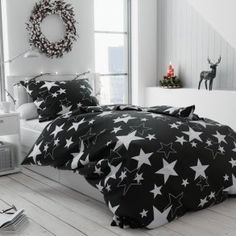 Posteľné obliečky a návliečky Comforters, Blanket, Stars, Retro, Design, Creature Comforts, Quilts, Sterne