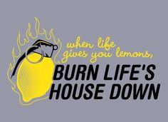 A special thanks to the engineers who invented the combustible lemon.