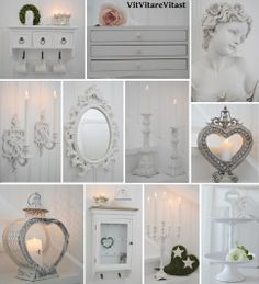 Lovely white things ♥