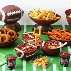 Beer Bacon Cheese Dip Footballs