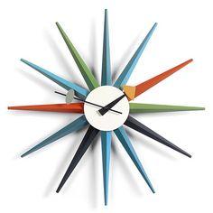 ヤマギワオンラインストア | 掛時計 | Vitra(ヴィトラ)「Sunburst Clock(サンバースト クロック)」マルチカラー[914VI20125301]