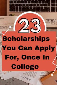 23 Scholarships You Can Apply For Once In College College Hacks, Study Tips, How To Apply, Student, Canning, Home Canning, Conservation