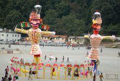 Photos of Dussehra Festival in India: Dussehra Effigies