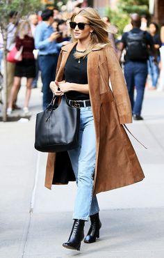 m8 coolhunter: 11 estilismos de Rosie Huntington-Whiteley que nos...