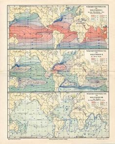 Antique Nautical Map. I just love old maps :)