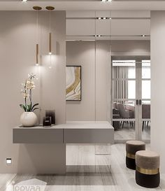 Best Indoor Garden Ideas for 2020 - Modern Home Room Design, Home Interior Design, Living Room Designs, House Design, Rooms Home Decor, Home Living Room, Living Room Decor, Entrance Hall Decor, Flur Design