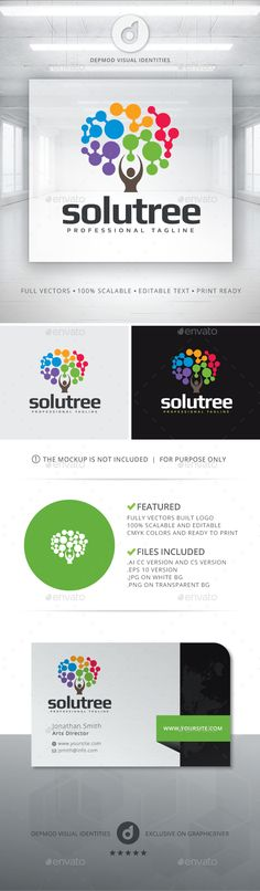 SoluTree Logo - Symbols Logo Templates