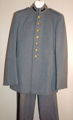 Youth Valley Forge Military Acadamy 2 Piece Wool Vintage 35 R Uniform