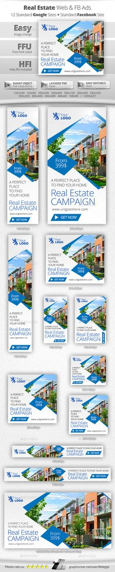 Real Estate Web & Facebook Banners - Banners & Ads Web Elements | Download: https://graphicriver.net/item/real-estate-web-facebook-banners/9845143?ref=sinzo