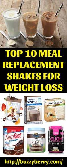 166 best Meal Replacement Shake Recipes images on Pinterest in 2018