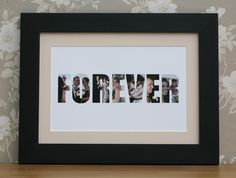 Personalised print in an A4 frame - £32.99 + P&P