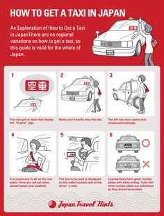 HOW TO GET A TAXI IN JAPAN