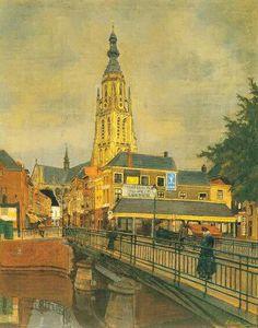 Breda in olieverf.