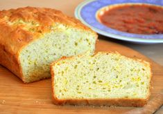 Cheddar onion quick bread. Made this tonight.  I substituted nonfat greek yogurt (3/4 cup and 1/4 cup milk) for the buttermilk and used fresh chopped garlic cloves instead of onions. This was really really good.