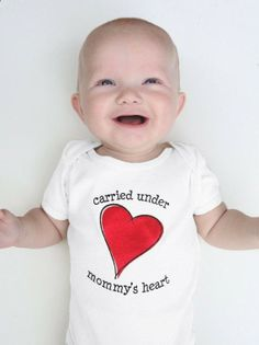Baby onesie first Mother's Day gift Mommy's by pineapplepetekids, $20.00
