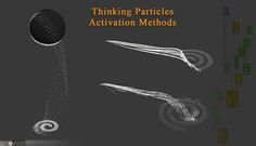 Cebas Thinking particles Tutorials