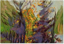 Marie-Doris Valois. Available at Gurevich Fine Art. info@gurevichfineart.com Rainbow Wall, Art Boards, Landscape Paintings, Oil On Canvas, Art For Kids, My Arts, Rooms, Fine Art, Cartoon