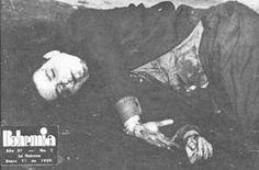 Cadáver de José Antonio Echeverría, líder universitario cubano