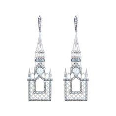Axenoff Jewellery » Earrings «Moscow Does Not Believe in Tears»