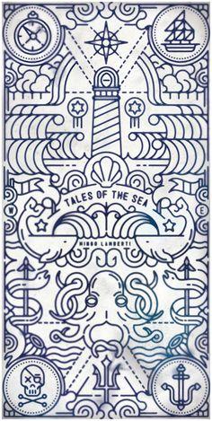tales of the sea illustration design