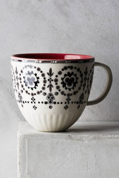 Anthropologie Lina Mug
