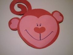 Heart crafts for kids Valentine Crafts For Kids, Valentines Day Activities, Valentine Day Crafts, Holiday Crafts, Valentine Ideas, Preschool Arts And Crafts, Classroom Crafts, Monkey Crafts, Craft Projects For Kids