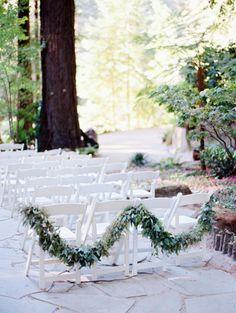 Tick garland: http://www.stylemepretty.com/california-weddings/los-gatos/2015/05/29/rustic-summer-redwoods-wedding/ | Photography: Tanja Lippert - http://www.tanjalippert.com/