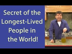 """""""The longest lived people in the world are olive oil consumers."""" Watch this great video by David Wolfe about the amazing health benefits of olive oil. http://youtu.be/M3WWCecPQUE"""