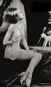Elsa Lanchester, Bride of Frankenstein, pin-up, film, horror