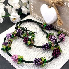 Image result for Kumihimo necklace